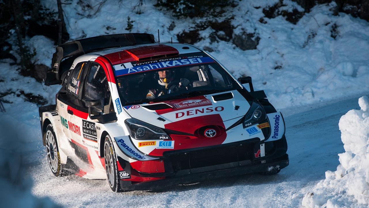 Sébastien Ogier y Toyota defienden liderato del WRC en el Arctic Rally