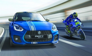 El Suzuki Swift Sport Hybrid World Champion Edition honra los 7 títulos de MotoGP