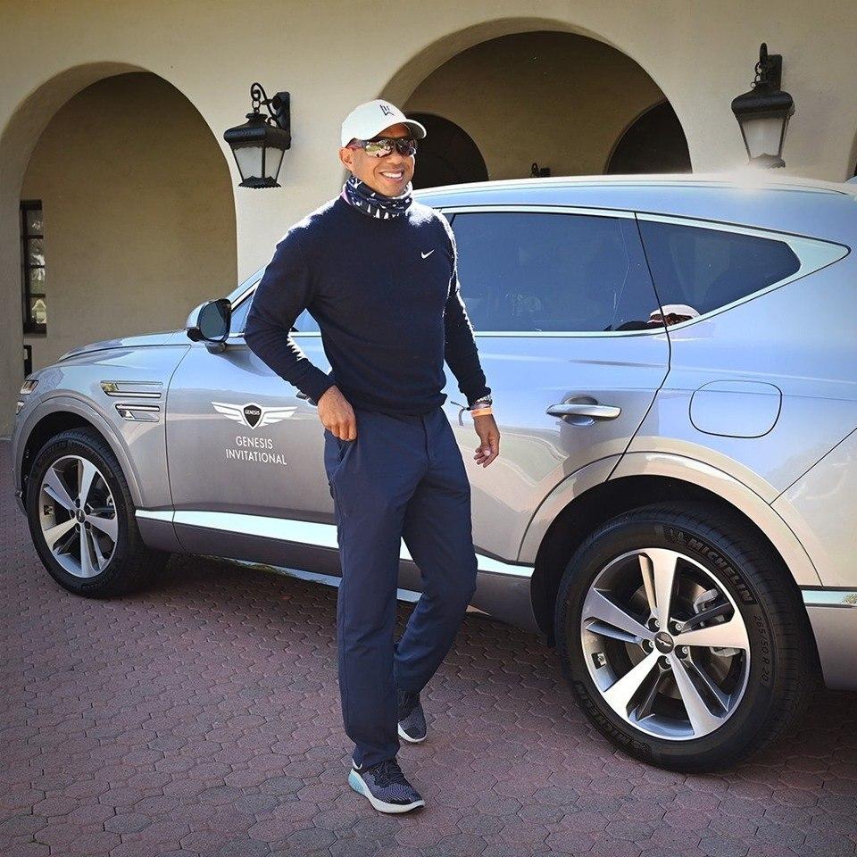 Tiger Woods pone la marca Genesis en primera plana tras su accidente de tráfico