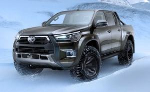 Arctic Trucks presenta el nuevo Toyota Hilux AT35 preparado para la nieve