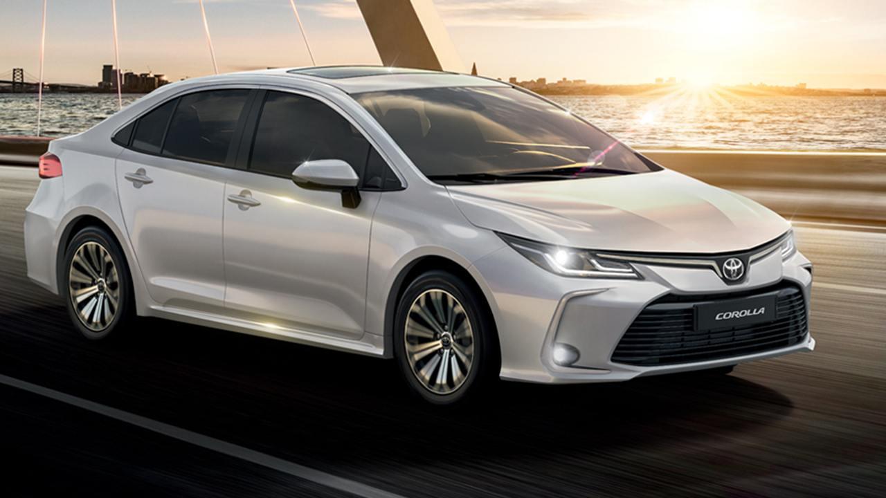 Argentina - Enero 2021: El Toyota Corolla se acerca al podio