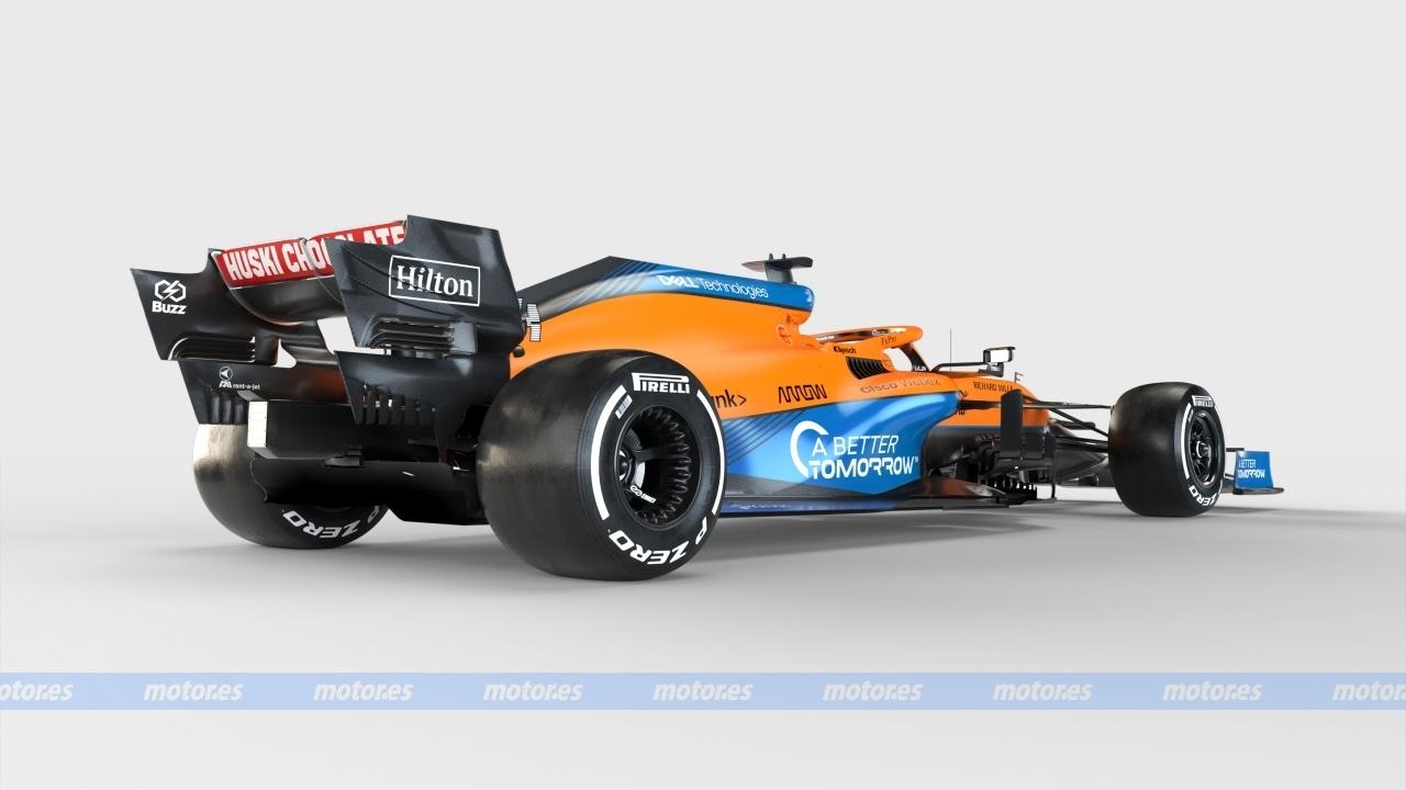 Análisis técnico del McLaren MCL35M: Un F1 con estrella (con vídeo)