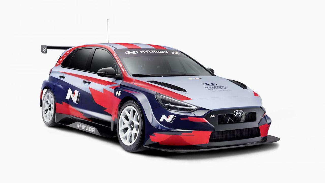 Así es la actualización del Hyundai i30 N TCR para la temporada 2021