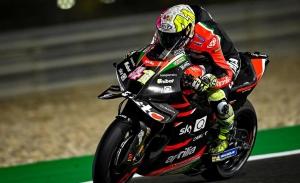 Aleix Espargaró termina al frente del primer día del test de MotoGP