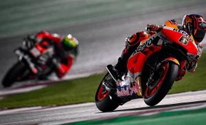 El alemán Stefan Bradl lidera el shakedown de MotoGP en Losail