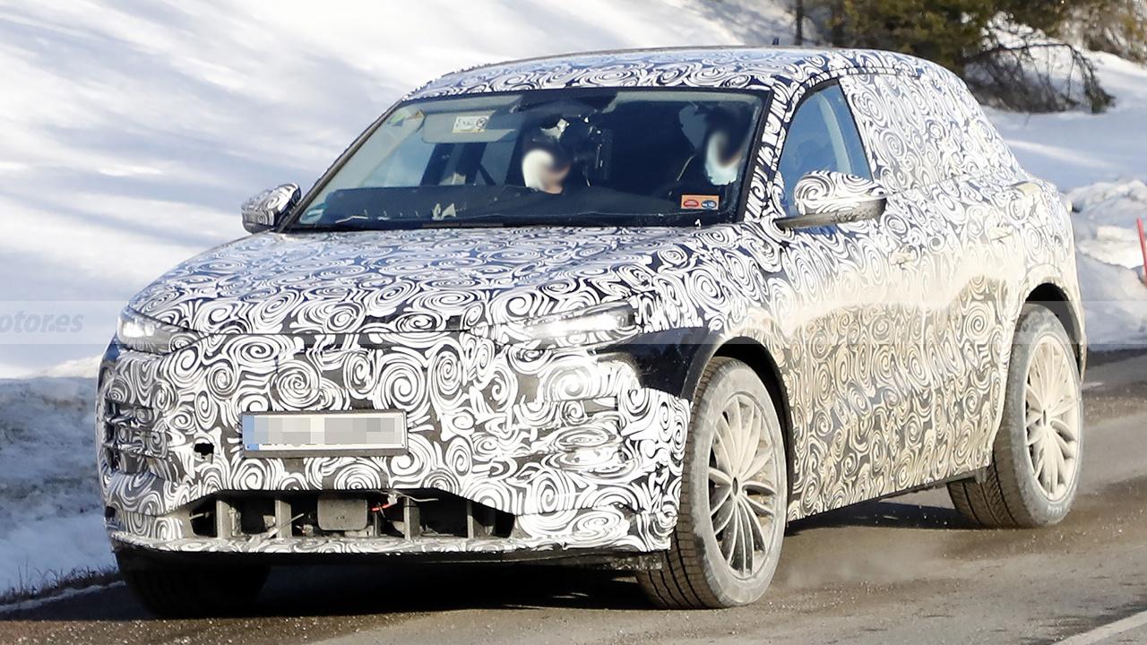 El nuevo SUV eléctrico de Audi, el Q5 e-tron, es avistado en el norte de Europa