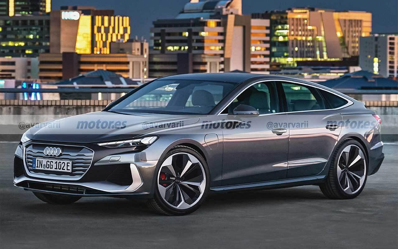 Primera recreación del Audi Trinity, el futuro A4 eléctrico que llegará en 2026