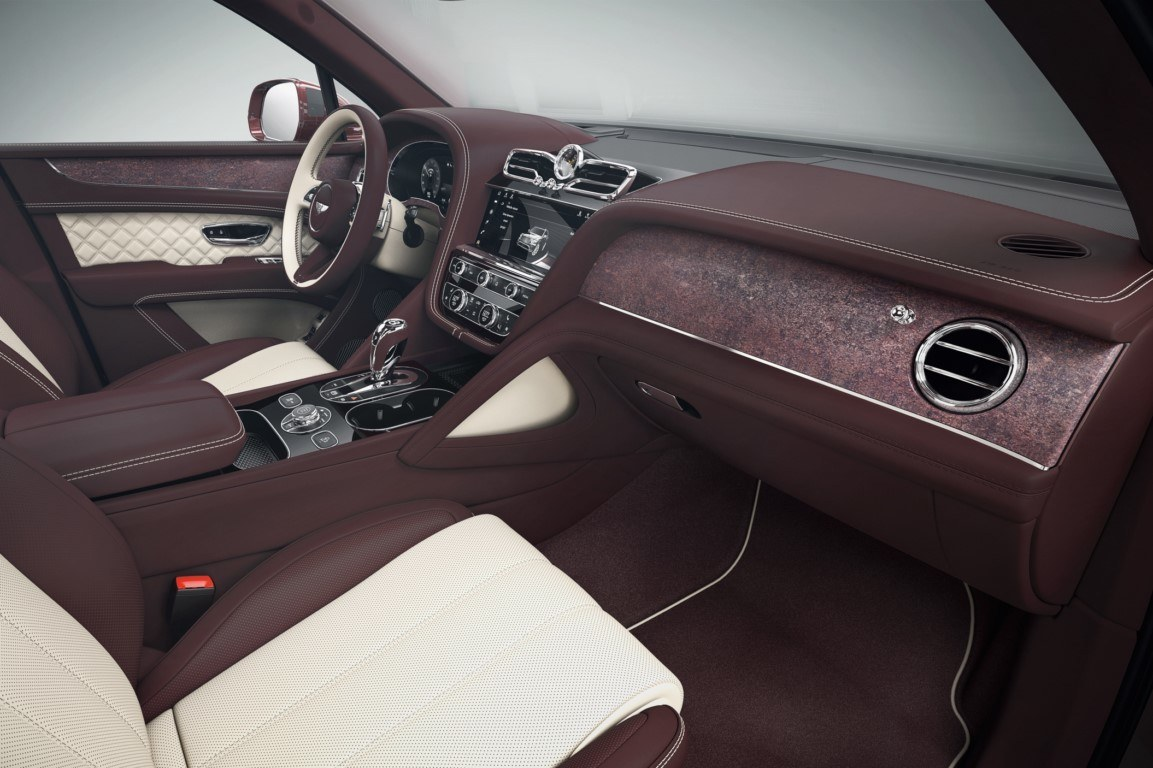 Foto Bentley Bentayga Mulliner - interior