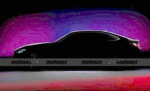 Nueva imagen del BMW i4 a modo de teaser antes de su inminente presentación