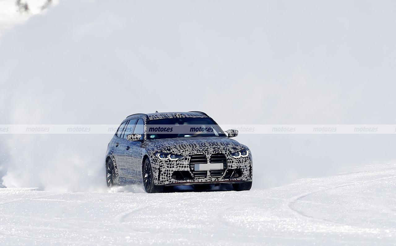 El nuevo BMW M3 Touring 2022, cazado en las pruebas de invierno