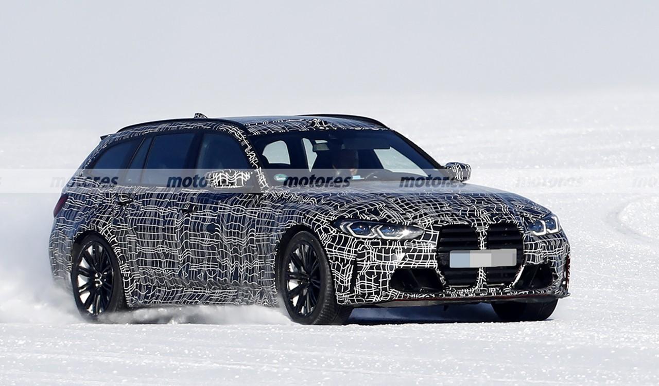 Foto espía BMW M3 Touring 2022 - exterior