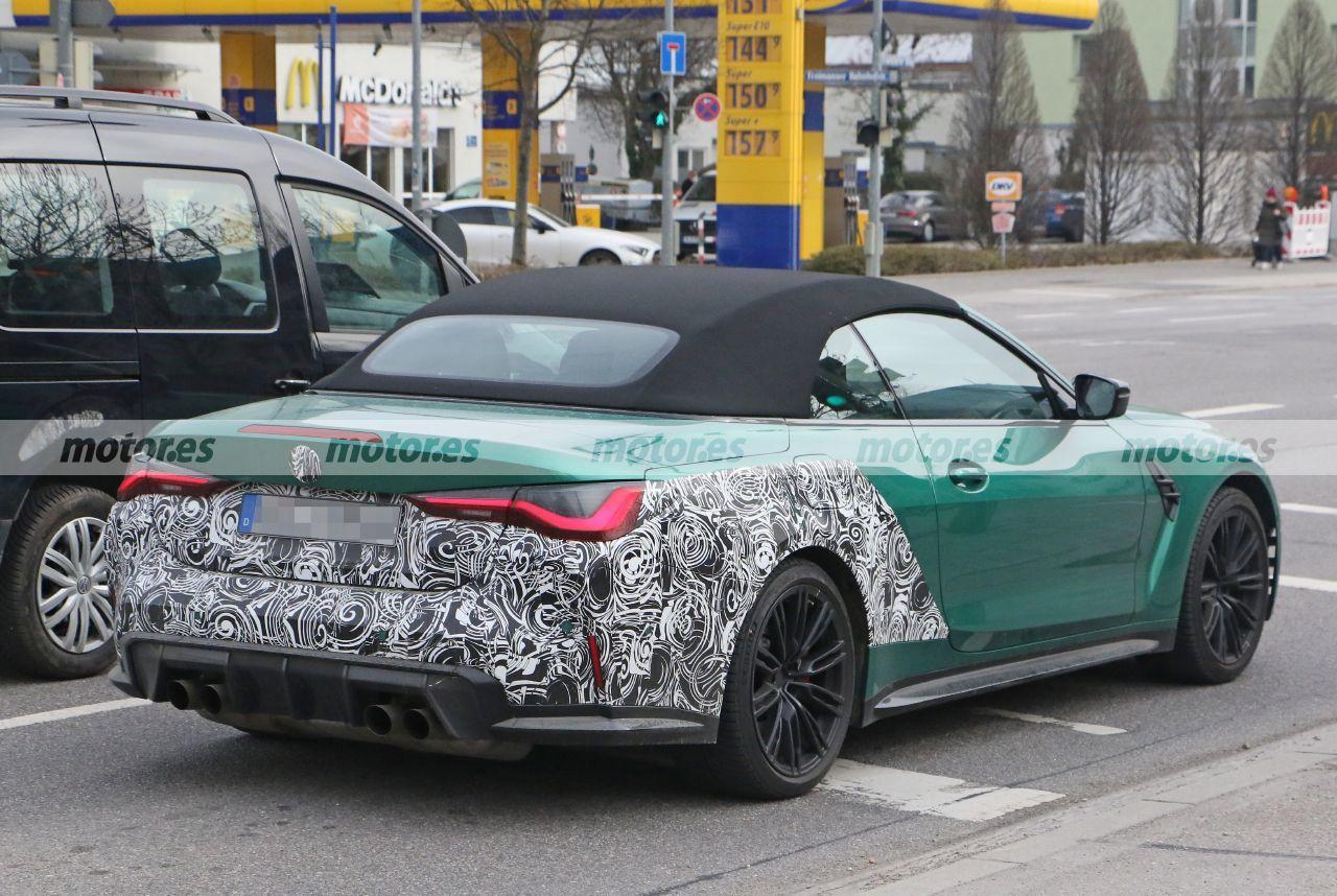 Foto espía BMW M4 Cabrio 2022 - exterior