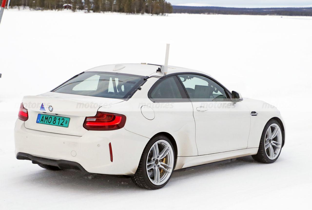 Foto espía Mula BMW Eléctrico - exterior