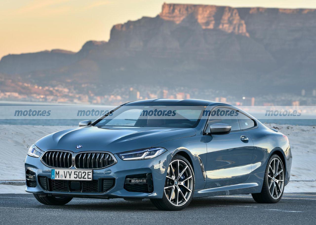 Esta recreación del BMW Serie 8 Facelift 2022 descubre sus interesantes novedades