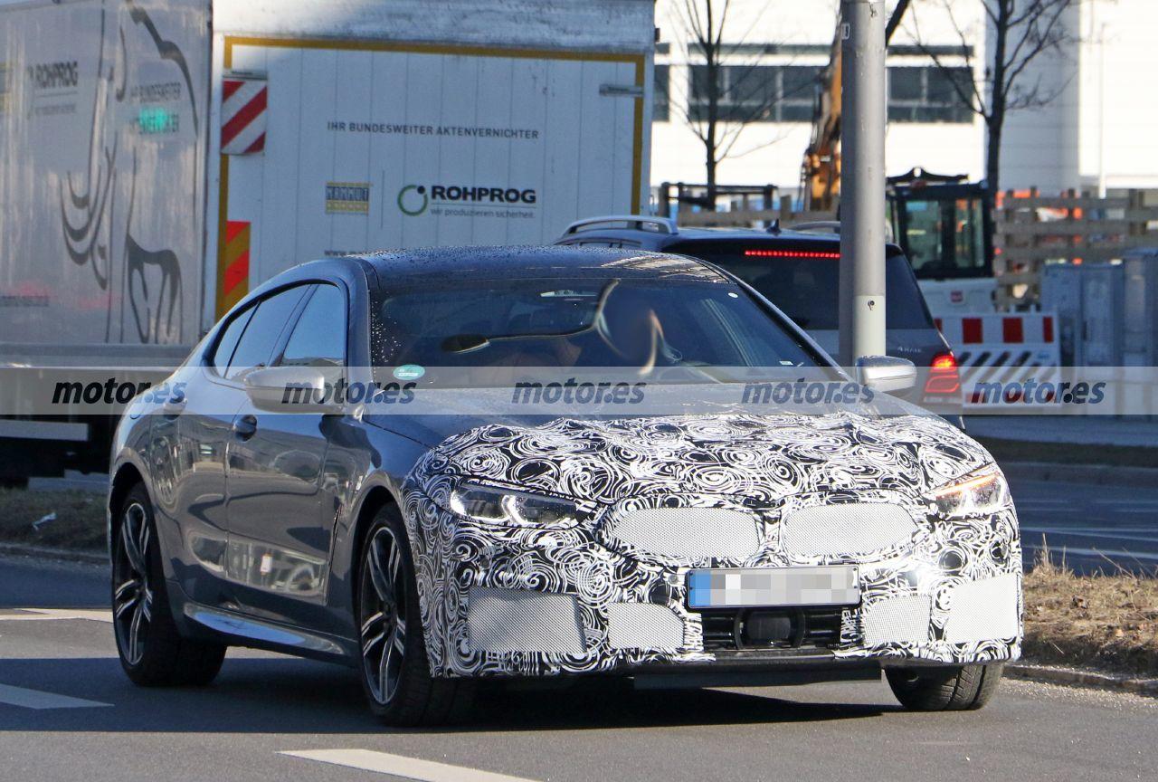 El BMW Serie 8 Gran Coupé Facelift 2023 ya afronta su lavado de cara