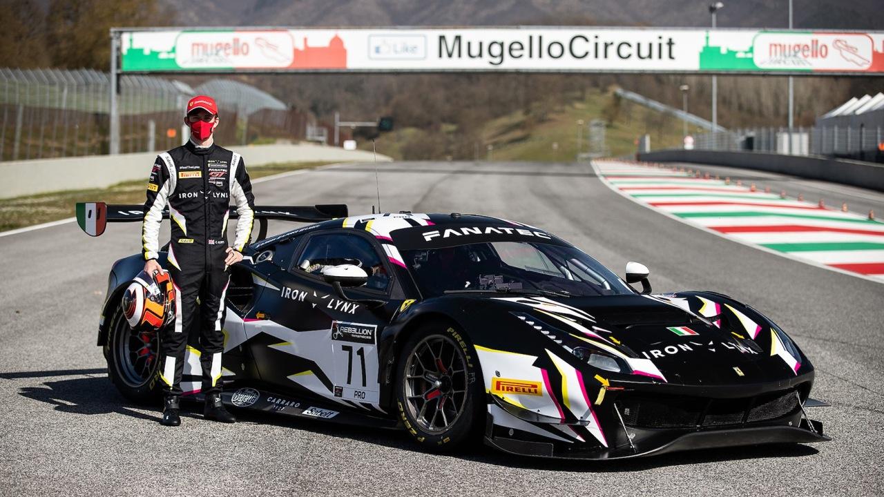 Callum Ilott: «El GT3 ofrece buena potencia, es agradable de pilotar»