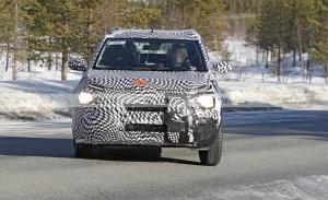 El nuevo crossover de Citroën que llega a India en 2022 posa en fotos espía