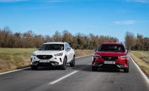 La gama CUPRA Formentor estrena nuevas versiones TSI gasolina de 190 y 245 CV