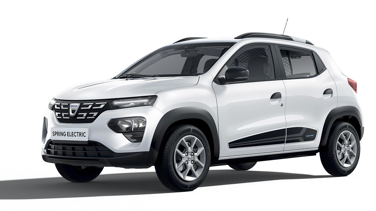 El Dacia Spring Cargo, la variante comercial del nuevo eléctrico, llegará en 2022