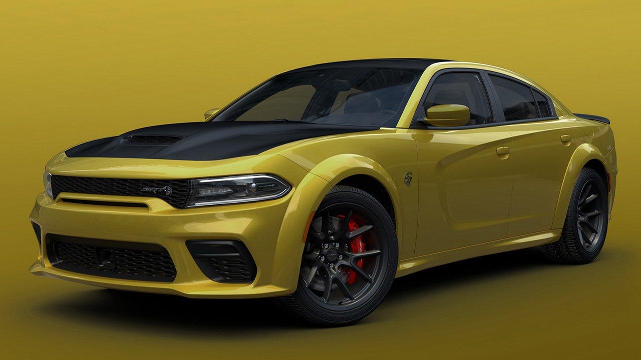 El color Gold Rush llega a las versiones más radicales del Dodge Charger
