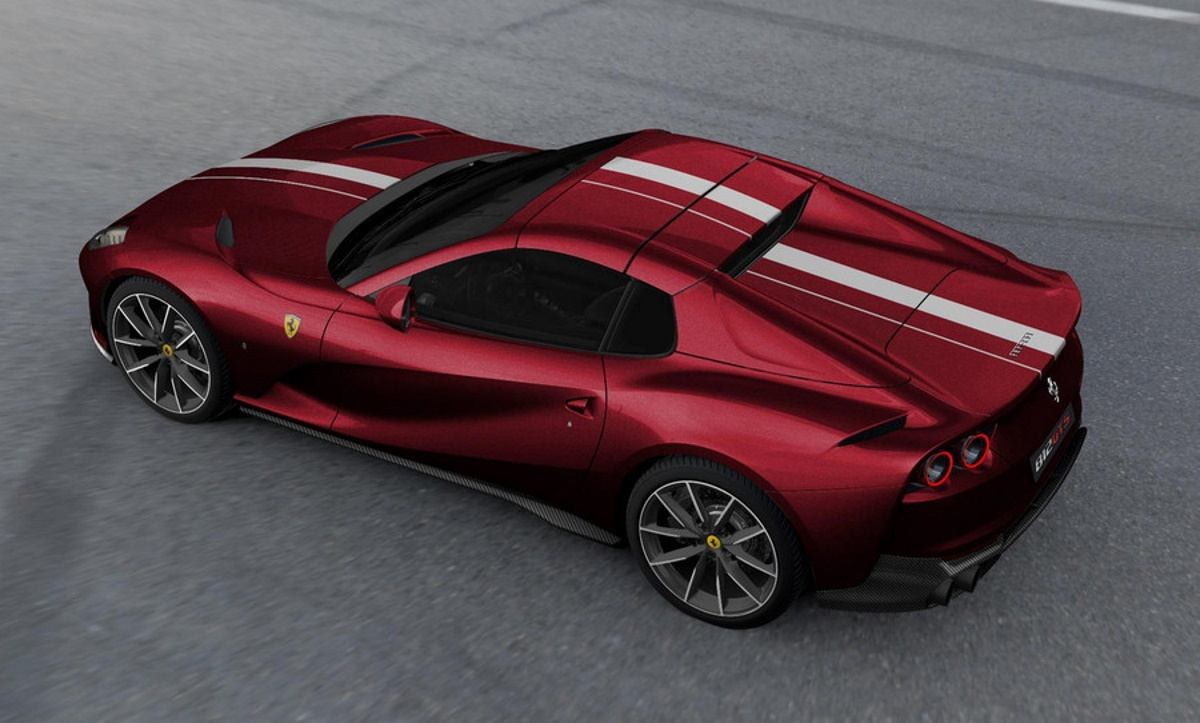 Un Ferrari 812 GTS único para festejar el décimo aniversario de Ferrari Polonia