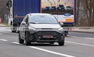 El Ford Fiesta Active Facelift 2022 posa en sus primeras fotos espía