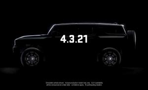 El primer vídeo teaser del nuevo GMC Hummer SUV muestra su techo desmontable