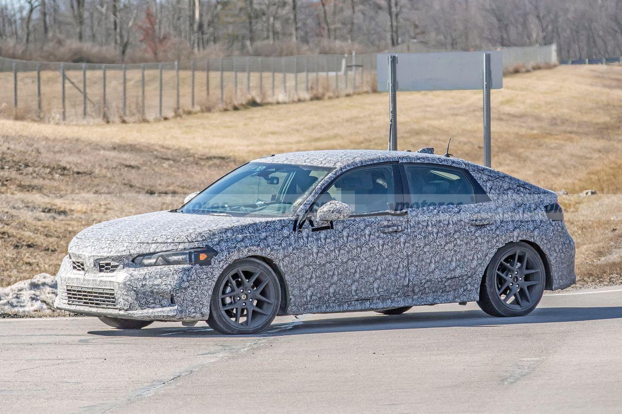 El nuevo Honda Civic 2022 se deja ver algo más destapado en Europa