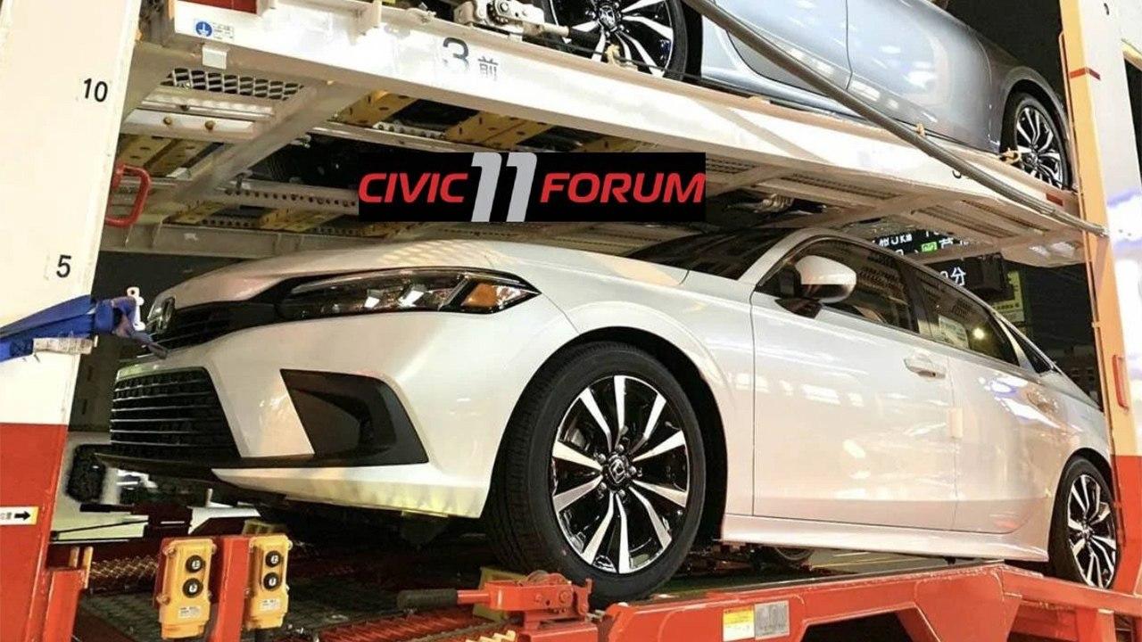 ¡Filtrado! El nuevo Honda Civic Sedán 2022 en su configuración americana al desnudo