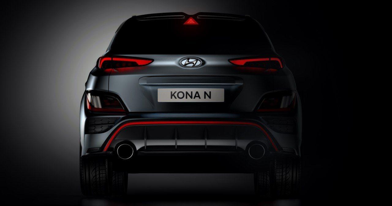 Teaser Hyundai Kona N - exterior