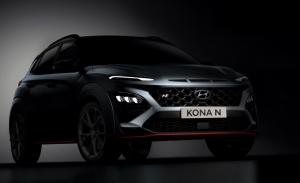 Nuevo adelanto del Hyundai Kona N, al descubierto el SUV deportivo