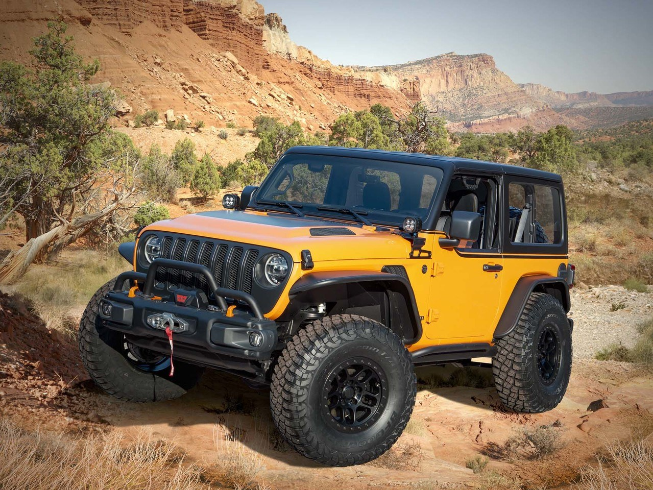 Los espectaculares prototipos del Jeep Wrangler en el Jeep Easter Safari 2021
