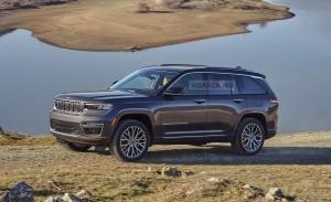 Primeras recreaciones del nuevo Jeep Grand Cherokee 5 plazas