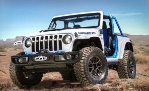 Jeep Wrangler Magneto concept: el Wrangler 100% eléctrico ya es oficial