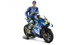 Joan Mir y Suzuki muestran los colores del campeón de MotoGP