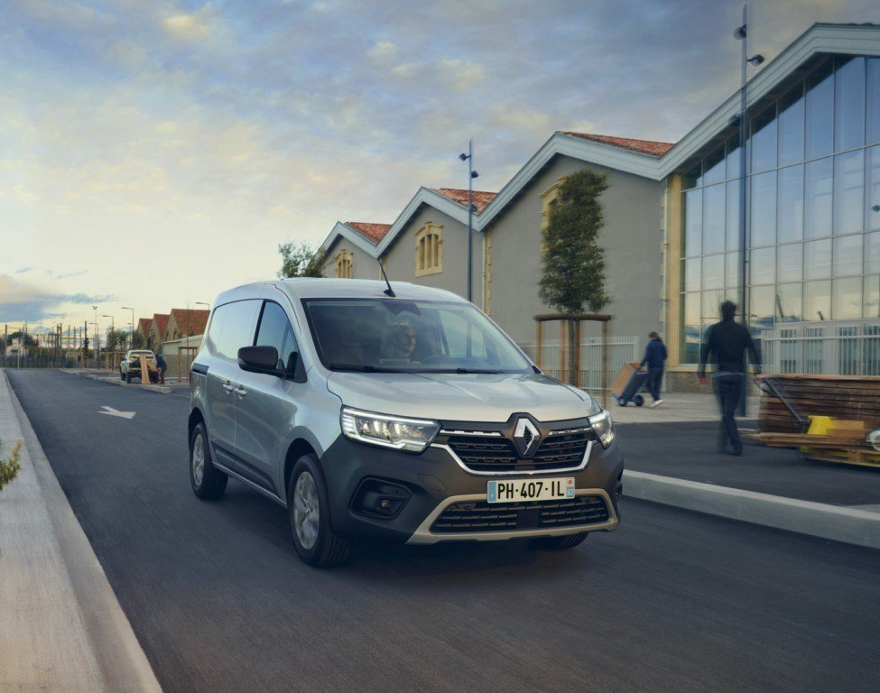 Llega el nuevo Renault Kangoo Van, primer comercial sin pilar central