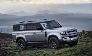 El futuro Land Rover Defender 130 destapado en sus primeros renders