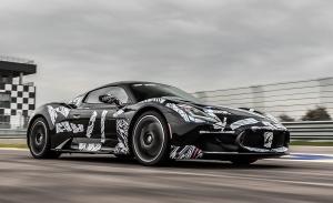 Los prototipos del Maserati MC20 se ponen a prueba en el Autodromo di Modena