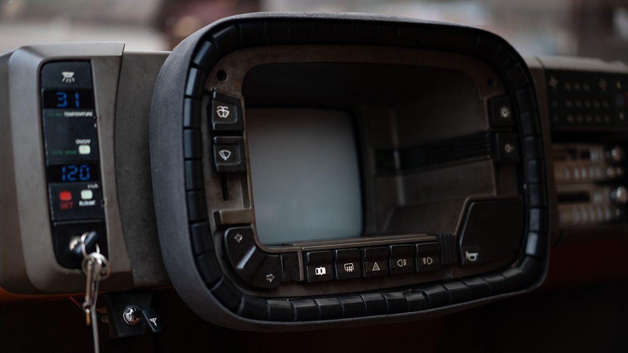 Mazda MX-81 - interior