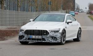 El facelift del Mercedes-AMG GT Berlina se destapa por primera vez