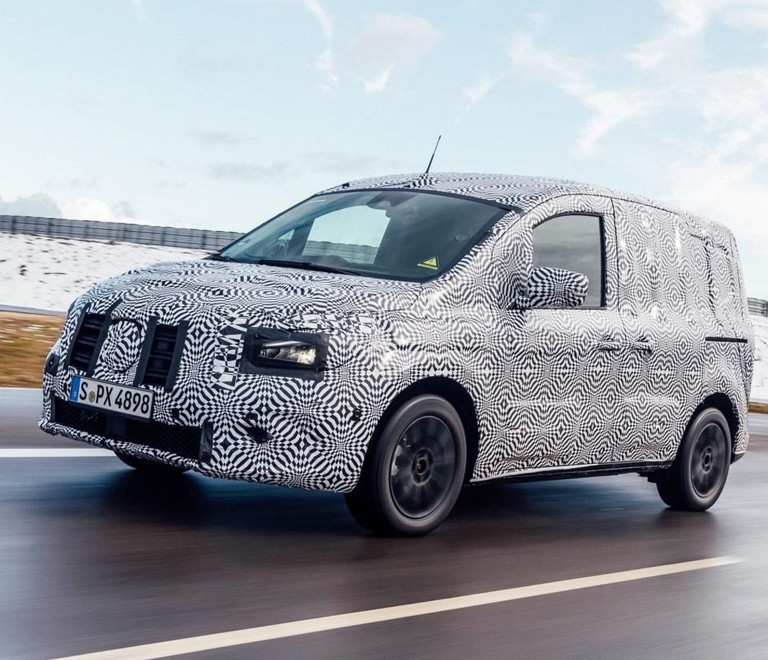 Mercedes eCitan: primeras imágenes de la nueva furgoneta eléctrica