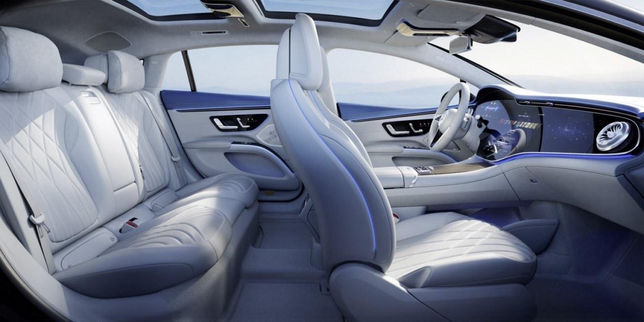Foto Mercedes EQS 2021 - interior
