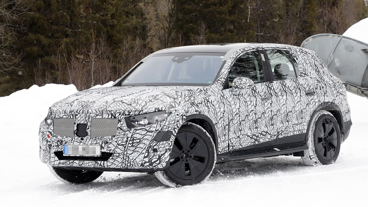 Mercedes GLC 2022 - foto espía