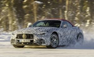 El Mercedes SL 2022 contará con tracción total 4MATIC, e interesantes novedades