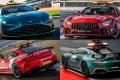 Aston Martin y Mercedes presentan los nuevos 'Safety Car' de la Fórmula 1
