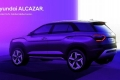 El Hyundai Alcazar ya tiene fecha de llegada y se destapa en este nuevo teaser