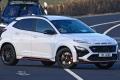 Listo para debutar, el nuevo Hyundai Kona N cazado sin camuflaje