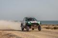 Yasir Seaidan gana la Sharqiyah Baja tras el accidente de Yazeed Al-Rajhi