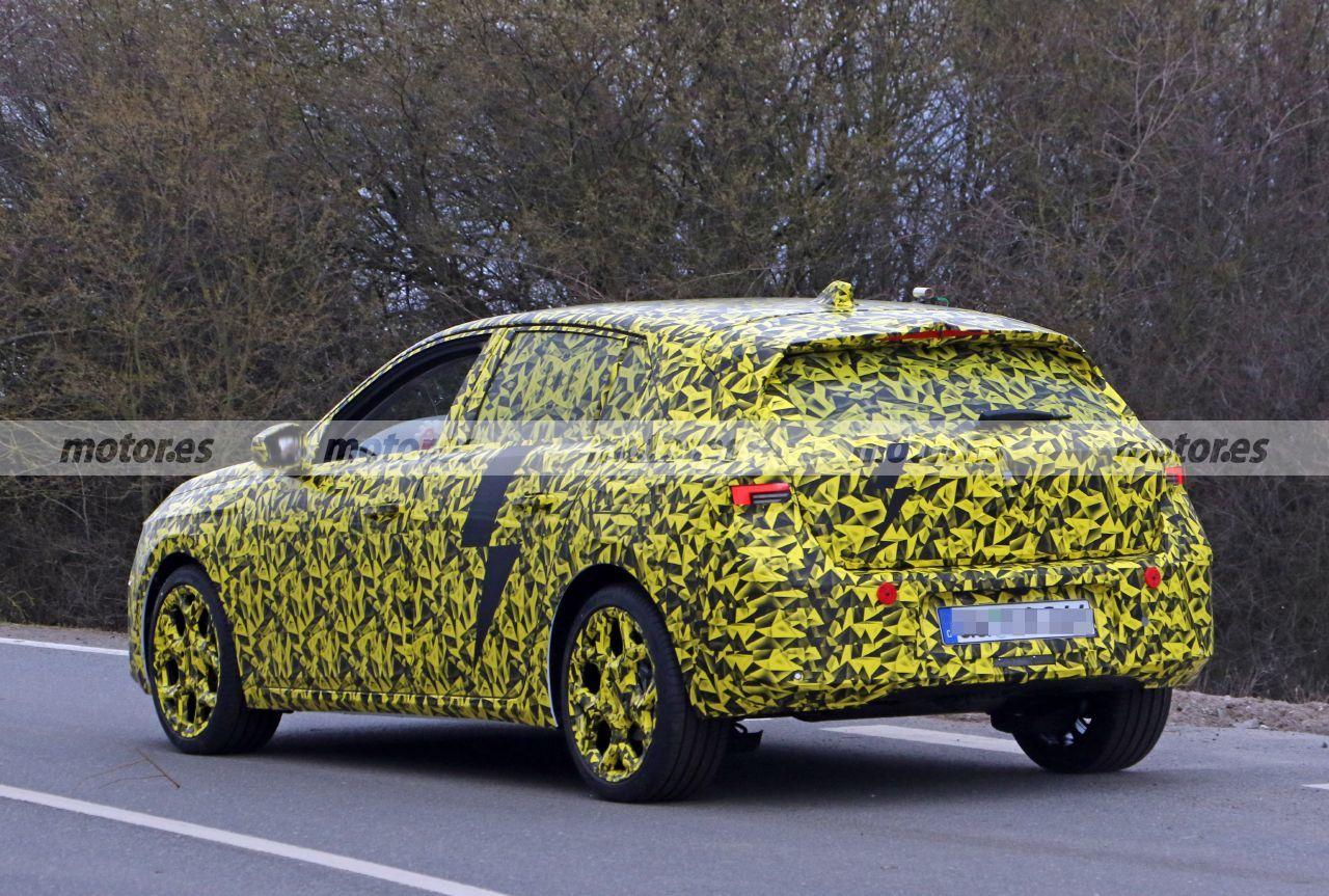 Foto espía Opel Astra 2022 - exterior