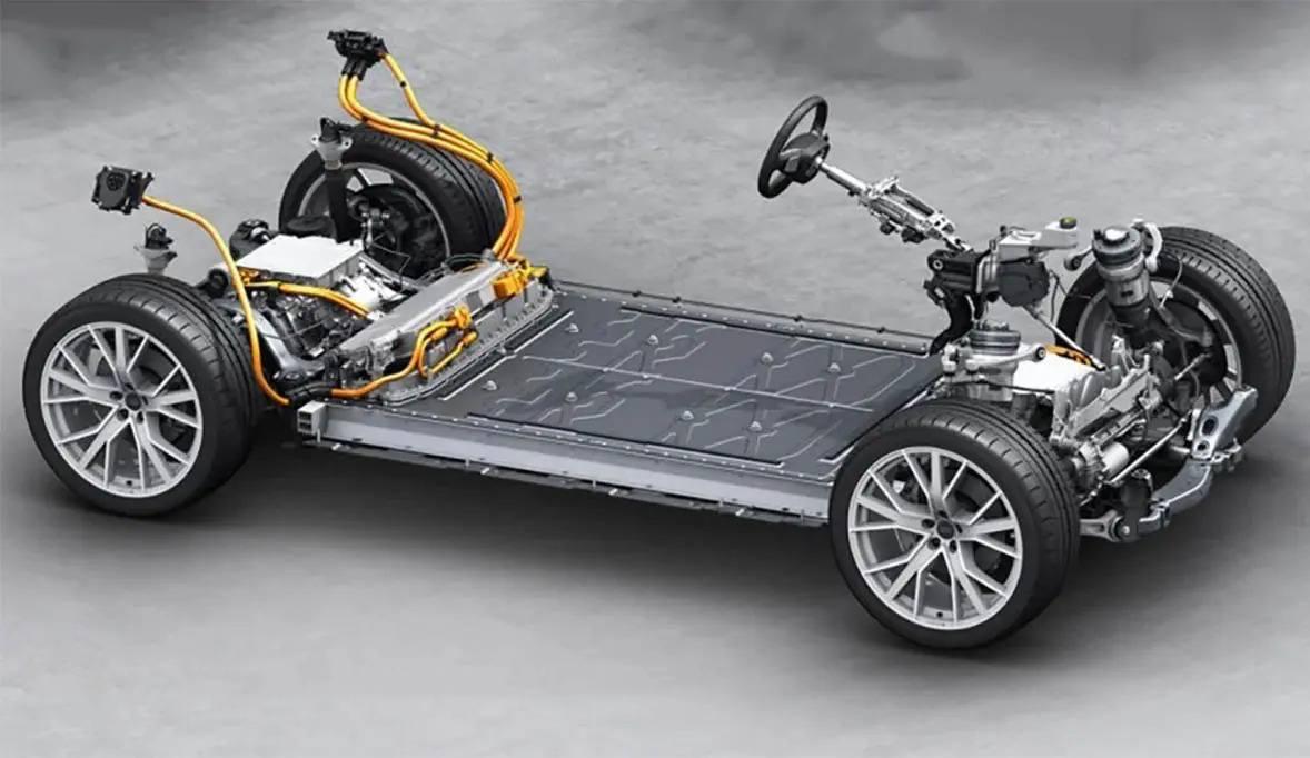 La nueva plataforma SSP para coches eléctricos enfrenta a Porsche y Volkswagen